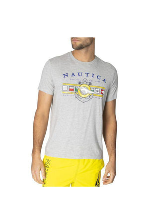 NAUTICA SS COLOURED FLAG TEE