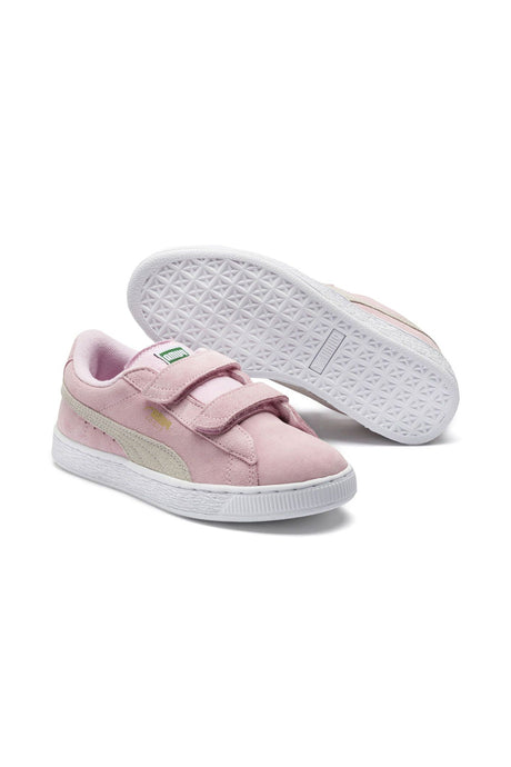 PUMA SUEDE 2 STRAPS YOUTH - PINK
