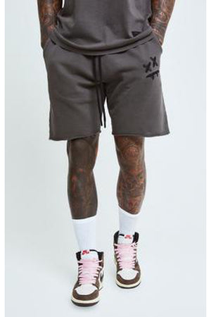 SIKSILK X STEVE AOKI RELAXED SHORTS