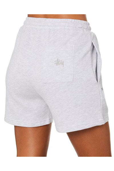 STUSSY TEXT LW WAISTED SHORT SNOW MARLE