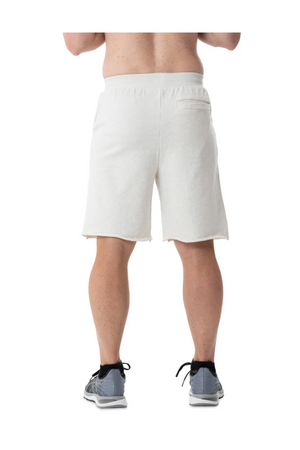 MAJESTIC LA DODGERS RAW EDGE SHORT WHITE MARLE
