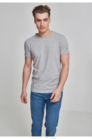 URBAN CLASSICS FITTED STRETCH TEE - GREY