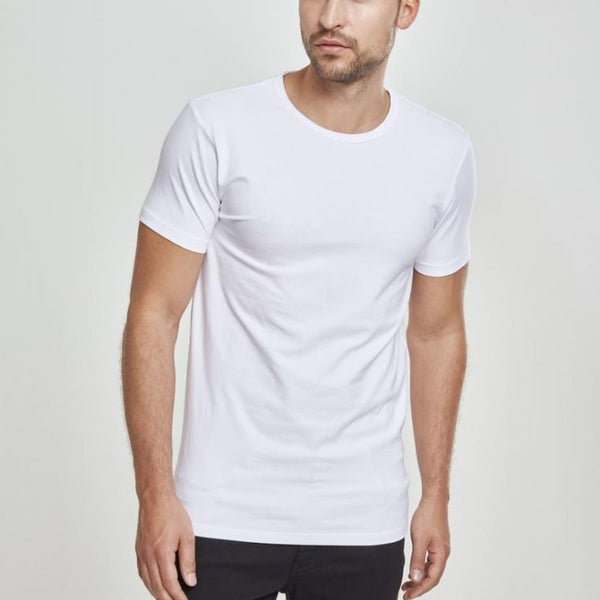 URBAN CLASSICS FITTED STRETCH TEE - WHITE
