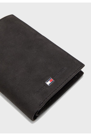 TOMMY HILFIGER JOHNSON N/S WALLET W/COIN POCKET PEBBLE