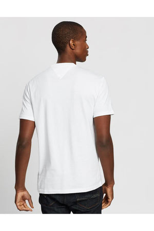 TOMMY JEANS BOLD TOMMY LOGO TEE - WHITE