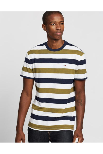 TOMMY JEANS SEASONAL STRIPE TEE