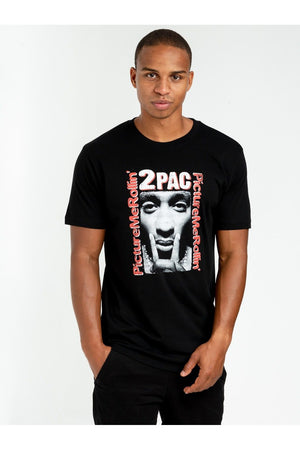 TUPAC BOXED IN TEE MT1121 BLACK