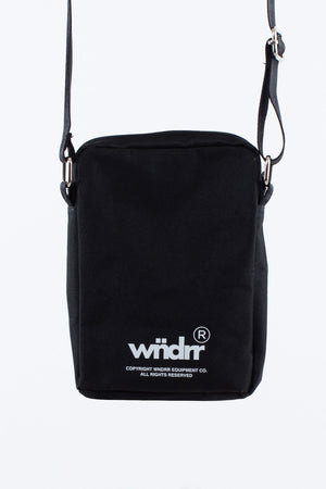 WNDRR OFFCUT SIDE BAG BLACK