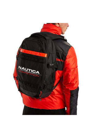 NAUTICA COMPETITION SNATCHED BACKPACK TRUE BLACK