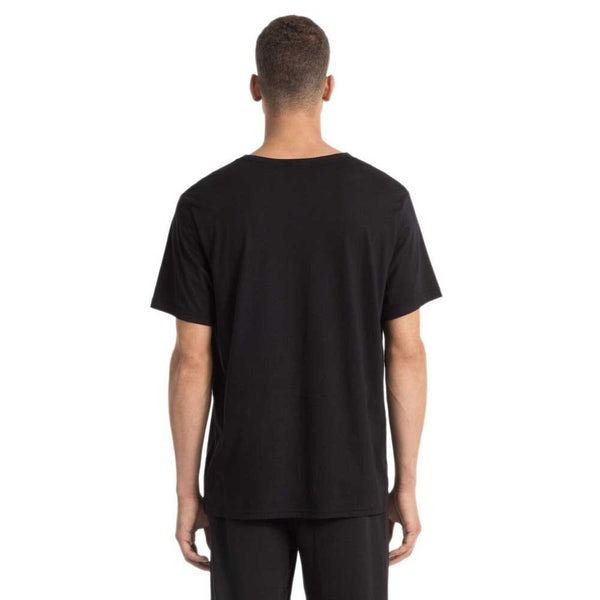 CALVIN KLEIN COMFORT COTTON S/S CREW NECK - BLACK