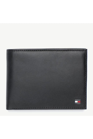 TOMMY HILFIGER CC COIN POCKET BLACK