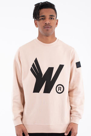 WNDRR FLIGHT CREW SWEAT SAND