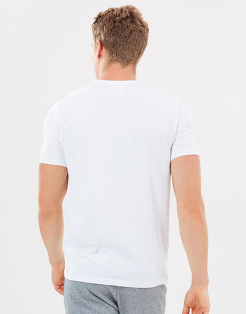 CALVIN KLEIN COMFORT COTTON S/S CREW NECK - WHITE