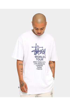 Solid Tour SS tee, white