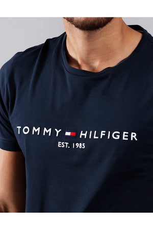 TOMMY HILFIGER CORE TOMMY LOGO TEE SKY CAPTAIN