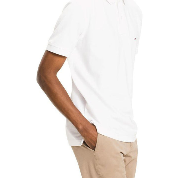 TOMMY HILFIGER POLO WHITE