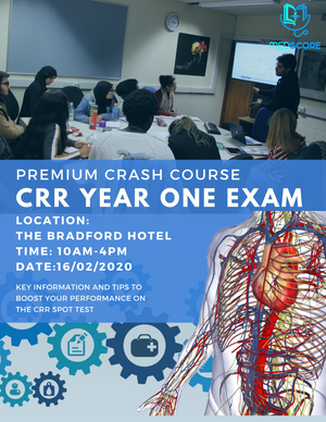 CRR DISSECTION EXAM - PREMIUM FULL DAY CRASH COURSE 16/02/2020