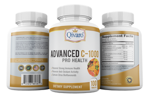QIH12:  Advanced C-1000 Pro Health by Qivaro - 100 Tablets