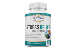 Stress Relief Pro Health By Qivaro - (90 tablets)