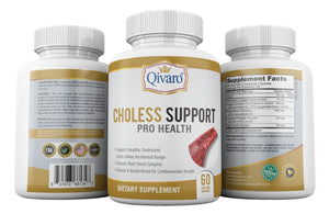 Choless Support Pro Health by Qivaro (60 veggie capsules) - Qivaro USA