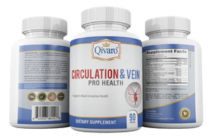 Circulation & Vein Pro Health By Qivaro (90 capsules) - Qivaro USA