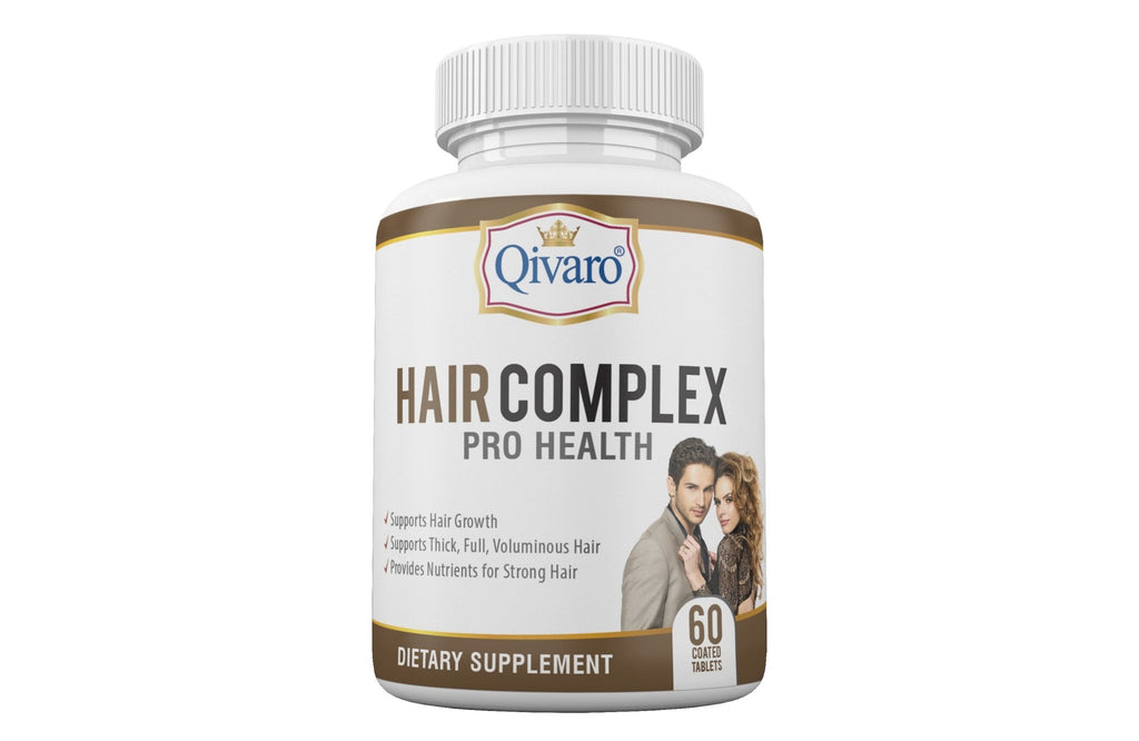 Hair Complex Pro Health By Qivaro (60 coated tablets) - Qivaro USA