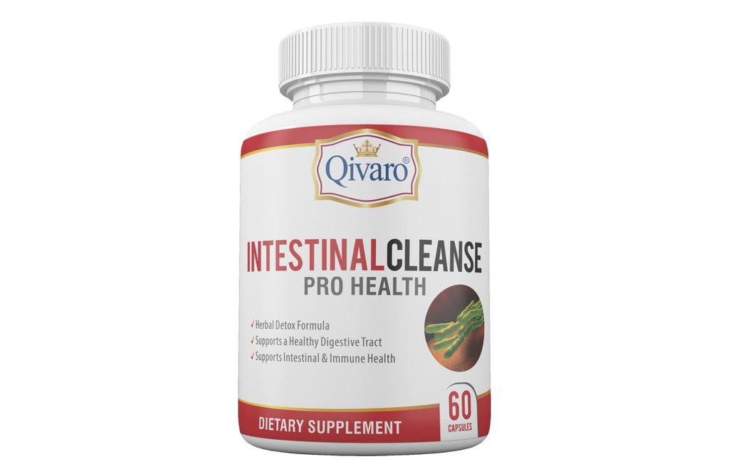 Intestinal Cleanse Pro Health By Qivaro (60 capsules) - Qivaro USA