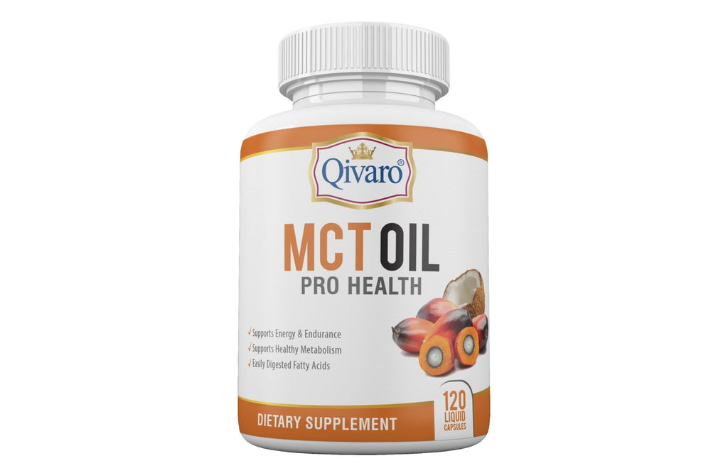 MCT Oil Pro Health - (120 Liquid Capsules) - Qivaro USA