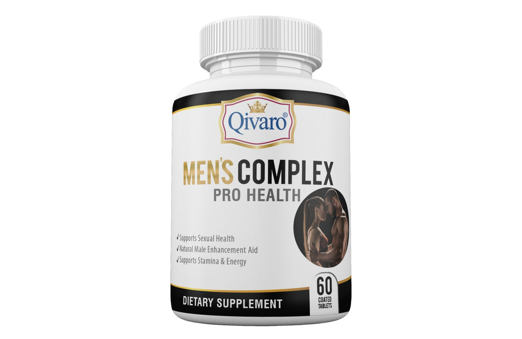 Mens Complex Pro Health By Qivaro - (60 coated tablets) - Qivaro USA