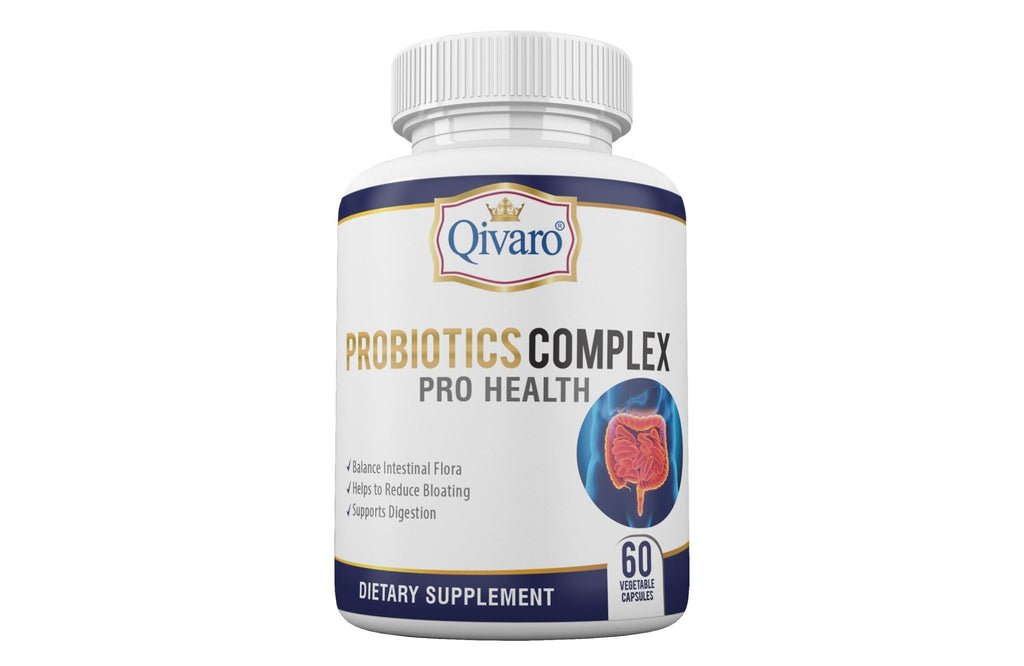 Probiotic Complex Pro Health By Qivaro - (60 veggie caps) - Qivaro USA