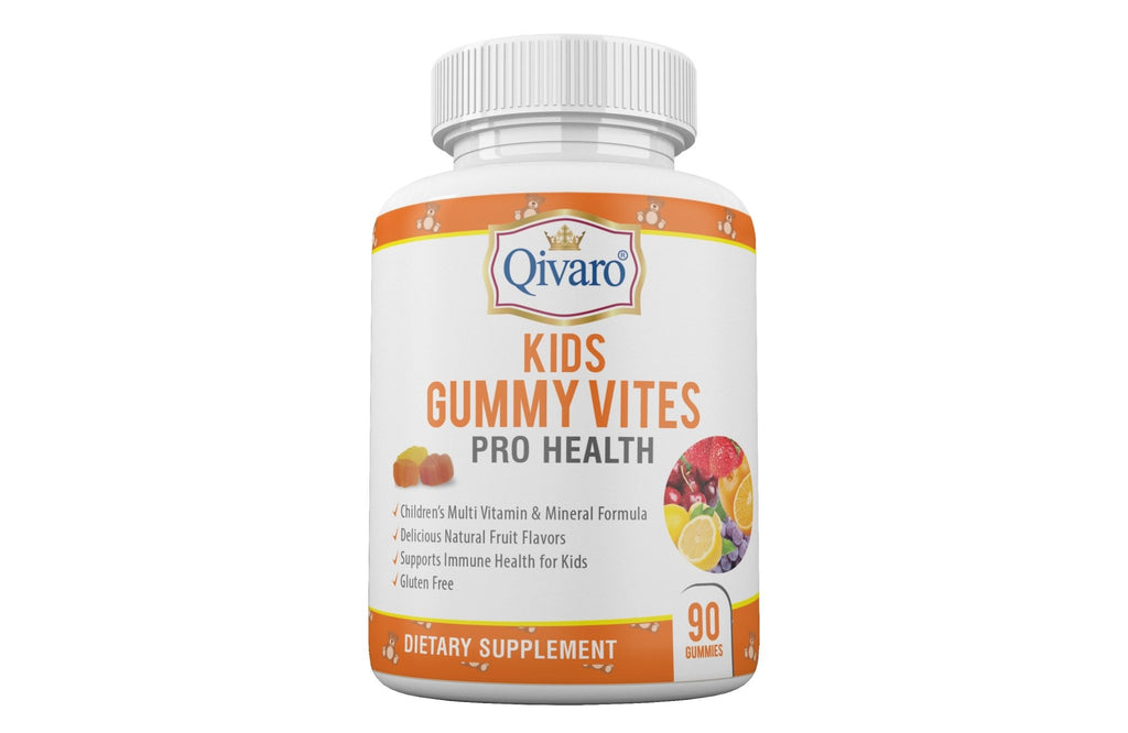 QKG01 - KIDS GUMMY VITES PRO HEALTH By Qivaro - 90 GUMMIES - Qivaro USA