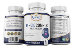 Thyroid Complex Pro Health By Qivaro - (60 capsules) - Qivaro USA