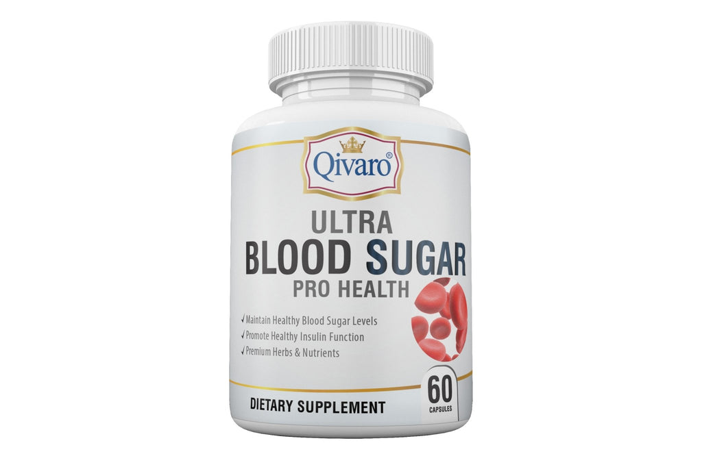 Ultra Blood Sugar Pro Health 血糖寶 (60 caps) - Qivaro USA
