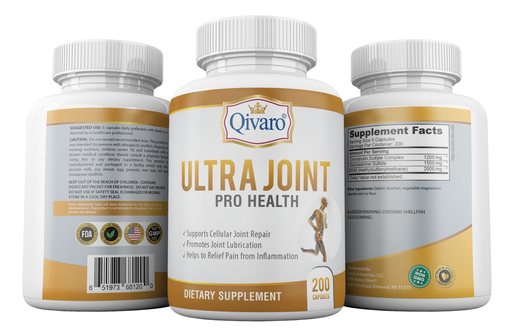 Ultra Joint Pro Health 超級關節寶 (200 caps) - Qivaro USA