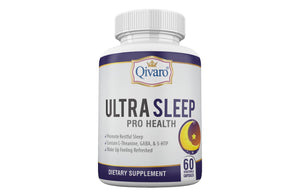 Ultra Sleep Pro Health 酣眠寶 (60 veggie caps) - Qivaro USA