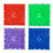 2.5 in. Plastic Maze Games Pack of 12 Party Favor for Kids