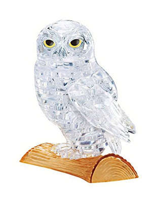 3D Crystal Puzzle - White Owl