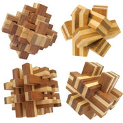 Bamboo Wooden Puzzle Bamboozler