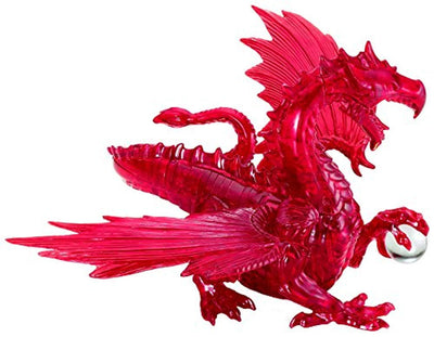 BePuzzled Original 3D Deluxe Crystal Dragon Puzzle (56 Piece)