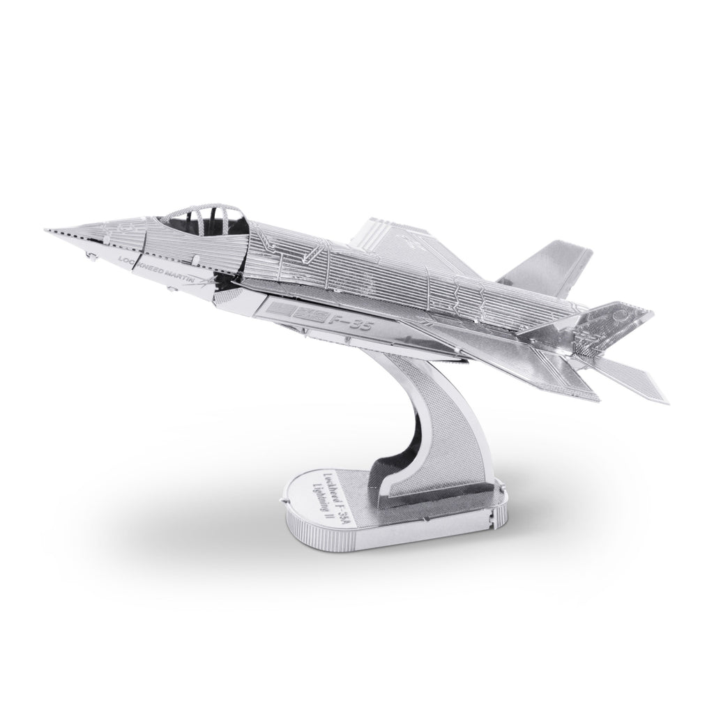 F-35A Lightning II plane Metal Earth 3D Metal Puzzle
