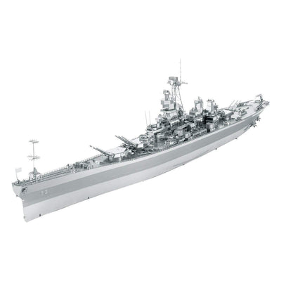 Fascinations ICONX USS Missouri (BB-63) 3D Metal Model Kit