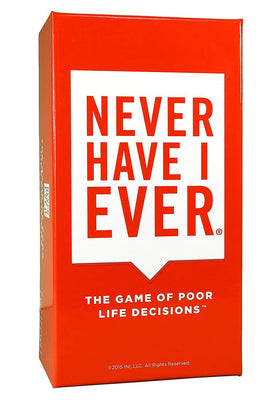 Never Have I Ever -- Outrageous and Strategic Card Game to Play with Your Friends! Best for Parties, Game Nights 17+
