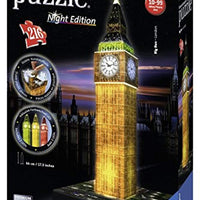 Ravensburger Big Ben - Night Edition - 3D Puzzle (216 Piece)