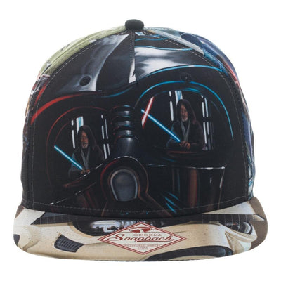 Star Wars Adult Duel Looking Glass Sublimated Snapback Hat
