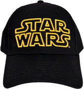 Star Wars Classic Embroidered Logo Outline Adult Hat Baseball Cap