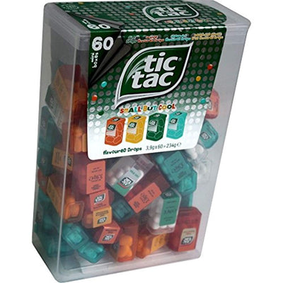 Tic Tac Spender Big Box with 60 Mini Boxes