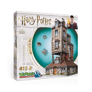 WREBBIT 3D Harry Potter the Burrow-Weasley Family Home 3D Jigsaw Puzzles (415 Piece)