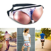 Women Butt Fanny Beer Belly Waist Packs, Cell Phone Holder