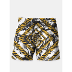 Wild Geometric Marble Shorts - Pop Iconic