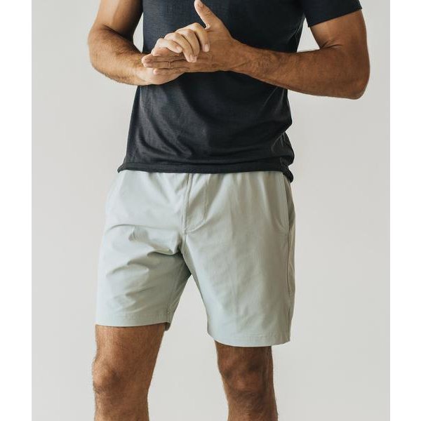 Slate Plain Shorts - Pop Iconic
